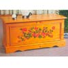 Cedar Chest with Floral Design 6052 (ML)