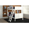 Solid Wood Woodcrest Louvered Twin Size Bunk Bed (WCFS)