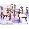 5-Pc Bronze Hammertone Dining Set 6205-10/50 (WD)