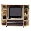 Large Almond Entertainment Center 6255 (VF)