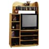 Maple Finish Entertainment Center 6291(CO)