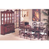 7-Piece Dark Cherry Finish Dinette Set 6304 (A)