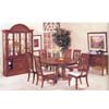 7-Piece Westminster Brown Cherry Dinette Set 6394 (A)