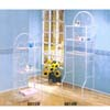 White Finish Bathroom Rack  661_ (A)