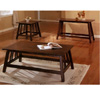 Dark Oak Finish Coffee Table 700108 (CO)