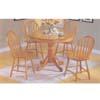5-Piece Oak Finish Dinette Sets 07021(Au)