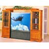 Expandable TV Armoire In Oak Finish 7091 (IEM)