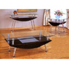 Chrome And Glass Top Occasional Tables 72009_(CO)