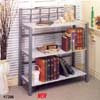Wave Collection 3 Tier Bookcase 7396 (CO)
