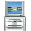 Grey/Silver Finish T.V. Stand 7584 (CO)
