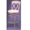 White Wash Metal Bar Stool 7645 (CO)