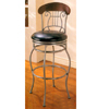 29ÃÃ Metal Bar Stool With Wood Back Rest 7651 (CO)