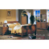 Louis Phillipe Rattan Bedroom Set 78_ (A)