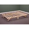 Solid Wood Folding Bed Frame 797_(KDFS)