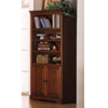 Rich Mahogany Finish Bookcase 800033 (CO)