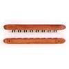 2-Piece 8 Clip Wall Cue Rack 803-8 (TE)