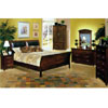 Calais Cove Leather Bedroom Set 8427/28
