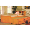 Solid Wood Captains Bed 8460(ABC)