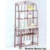 Bakers Rack With Marble Top  8687 (A)