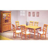 7-Piece Covington Solid Pine Dinette Set 8880 (A)