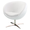 Modern Leather Round Back Chair 896112(AZFS)