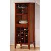 Wine Rack In Antique Oak Finish 900123 (CO)