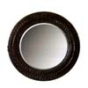 Wall Mirror in Antique Dark Brown Finish 900278 (CO)