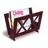 Cappuccino Finish Magazine Rack 900359 (CO)