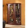 Curio Cabinet in Dark Walnut 950062(CO)