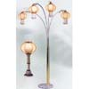 Floor Lamp In  Silver/Gold Finish 9732 (TOP)