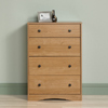 Timber 4 Drawer Chest ANDO2506(WFFS)