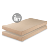 Foam 5 Inch Twin Mattress Set of 2 (AZFS)
