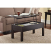 Lift-Top Coffee Table Espresso (AZFS)