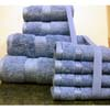 8PC. Set Blue Egyptian Cotton Towels ed8pc (RPT)