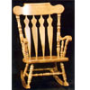 Solid Beechwood Rocking Chair CR-1220-K (BB)