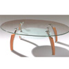 Oval Coffee Table CT318C (PK)