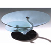 Coffee Table With Glass Top And Marble Base CT323M (PK)