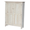 Solid Wood Double Door Jelly Cabinet (ICFS)