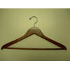 Genesis flat suit hanger w/wooden bar GNA8814 (PMFS)