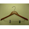 Genesis flat suit hanger w/wire clips GND8816 (PM)