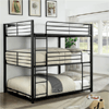 Triple Decker Metal Bunk Bed Twin/Full/Queen