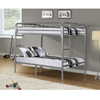 Full Bunk Bed with Metal Ladders  I-2233S(WFFS)