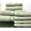 8PC. Set  Jade Egyptian Cotton Towels ed8pc (RPT)