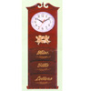 Letter Rack With Clock 1277 (PJ)