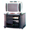 T.V. Stand In Black LK80 (E&S)