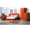 Cherry Finish Bed P168 (PK)