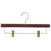 Pant Hanger with Clips in Mahogany Finish PRD9011M (PM)
