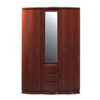 2 Door Wardrobe With Mirror P189W3(PK)
