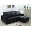 L-Shaped Convertible Sofa Bed S305BK(PK)
