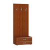 Stella Wall Stand with Hanger and 2 Drawers in Cherry SB-955